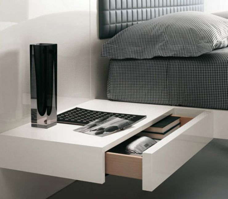 bedrooms-breathtaking-bedroom-with-white-wall-and-bedside-table-also-black-bedit-is-obviously-true-10-unique-bedside-tables-for-your-house-design-ideas-for-decorating-a-bedroom