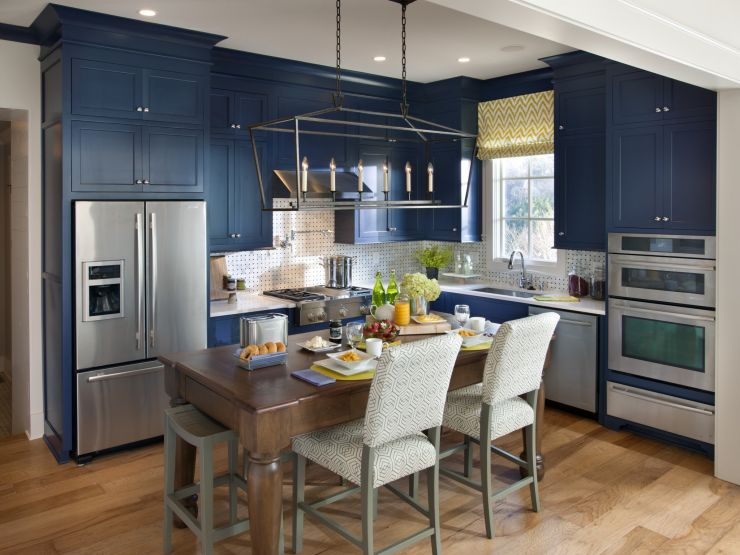 blue kitchen colors Dinnerware Cooktops -