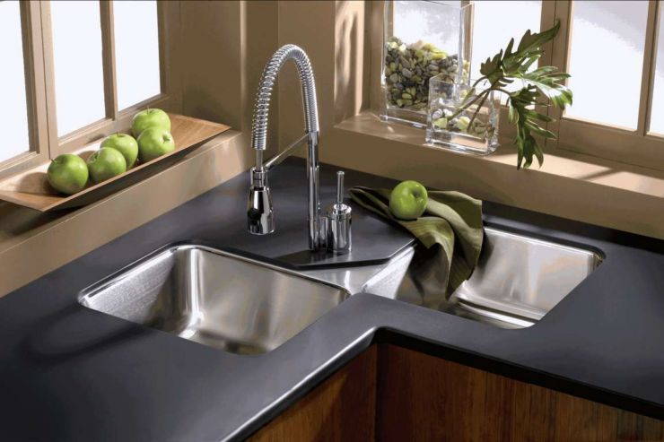 double-modular-kitchen-sink-types-with-black-table-combination