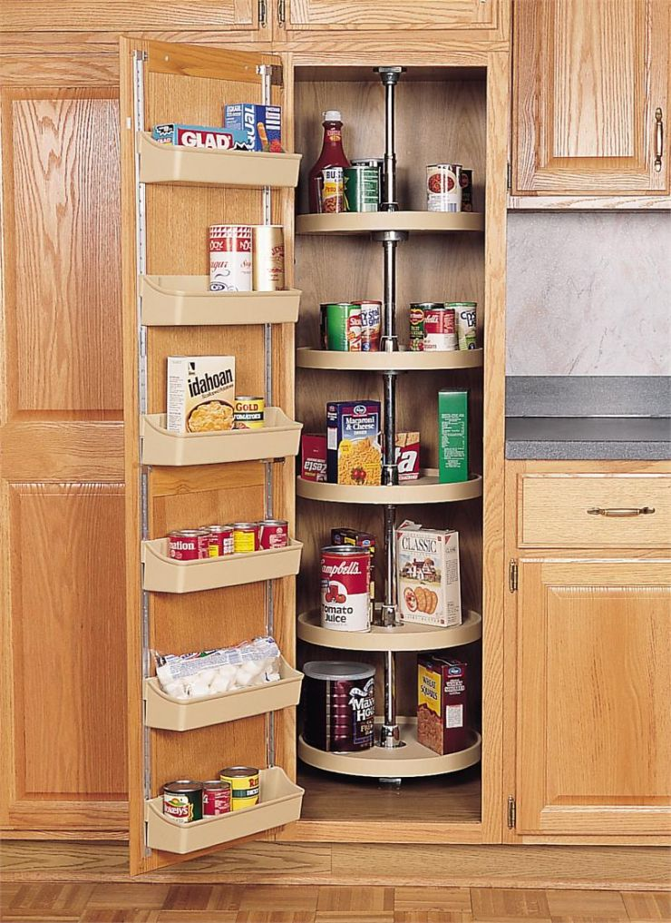 floating-shelves-kitchen-corner-dutch-ovens-braisers-casseroles-coffee-makers-dinnerware-graters-zesters-baking-sheets-water-coolers-food-pantries