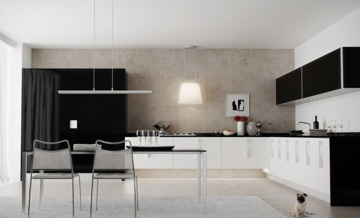modern-kitchen-with-white-cabinets