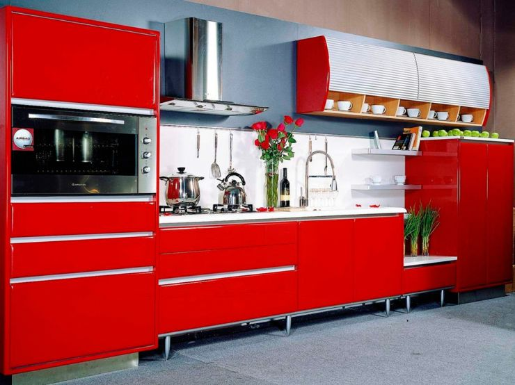 red-mahogany-kitchen-cabinets