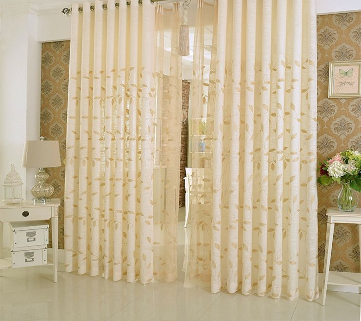 Beige curtains (12)