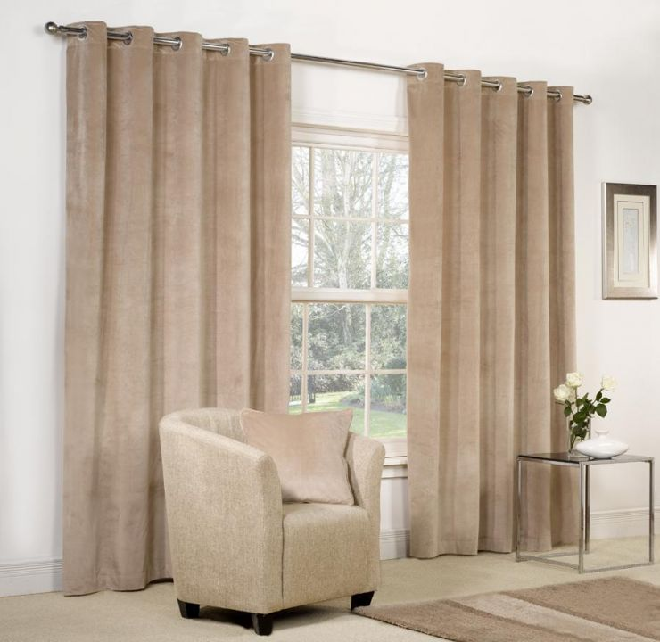 Beige curtains (30)
